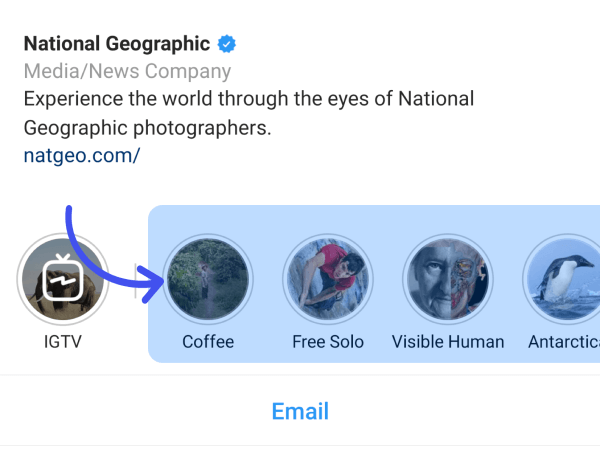 What are Instagram Story Highlights?